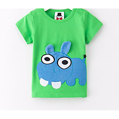 billige Babyoverdele-Baby Unisex Trykt mønster Uden ærmer T-shirt
