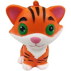 billige Originale moroleker-Klemmeleker / Stresslindrende leker Tiger Stress og angst relief / Dekompresjon Leker Andre 1pcs Barne Alle Gave