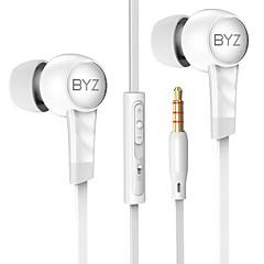 billiga Headsets och hörlurar-K61 I öra Kabel Hörlurar Dynamisk Koppar Mobiltelefon Hörlur Med volymkontroll headset