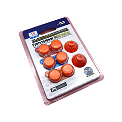 זול -בקר משחק החלפת חלקים עבור PS4 ,  בקר משחק החלפת חלקים ABS 8 pcs יחידה