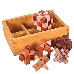 billige -Lubanlås Other Focus Toy Tre / Bambus 1pcs Voksen / Barne Alle Gave