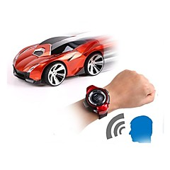 billige Fjernstyrte biler-Radiostyrt Bil Watch Control Car 2.4G Bil 1:24 Børste Elektrisk KM / H