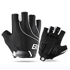 tanie Rękawiczki motocyklowe-ROCKBROS Pół palca Dla obu płci Rękawice motocyklowe Skórzany Lekki / Szybkie wysychanie / Oddychający