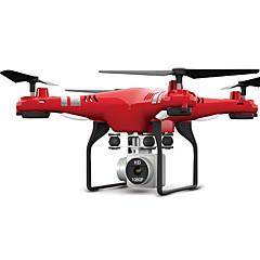billige Fjernstyrte quadcoptere og multirotorer-RC Drone X52HD RTF 4 Kanaler 6 Akse 2.4G Med HD-kamera 3.0MP 1080P Fjernstyrt quadkopter FPV / En Tast For Retur / Hodeløs Modus Fjernstyrt Quadkopter / Fjernkontroll / Kamera