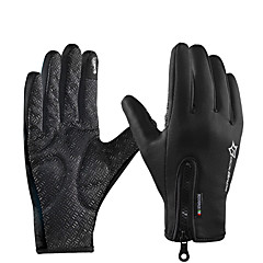 tanie Rękawiczki motocyklowe-ROCKBROS Pełny palec Unisex Rękawice motocyklowe Poliester Ekran dotykowy / Wodoodporny / Zatrzymujący ciepło
