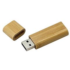baratos Pen Drive USB-Ants 64GB unidade flash usb disco usb USB 2.0 De madeira Cubóide Coberturas