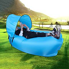 billiga Sovsäckar, madrasser och liggunderlag-Luftbädd / Sovsäck Utomhus Bärbar / Vattentät / Kompakt Nylon 240*70*50 cm Strand / Camping / Resa Alla årstider