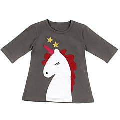 billige Sett med familieklær-Mamma og meg Grunnleggende Ferie Dyr Langermet T-skjorte