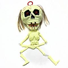 tanie Zabawki nowoczesne i żartobliwe-Rekwizyty na Halloween Motyw horroru Skeleton / Skull 1 pcs Sztuk Wszystko Dla dorosłych Prezent