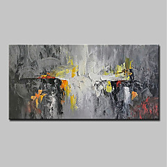 cheap Wall Art-Mintura® Hand Painted Abstract Oil Paintings On Canvas Modern Wall Art Pictures For Home Decoration Ready To Hang