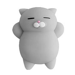 tanie Odstresowywacze-LT.Squishies Zabawki do ściskania / Gadżety antystresowe Kot Stres i niepokój Relief / Zabawki dekompresyjne Gumowy 1 pcs Dziecięce Wszystko Prezent
