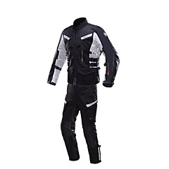 baratos Jaquetas de Motociclismo-DUHAN D-201SET Roupa da motocicleta Conjunto de calças de jaquetaforHomens Primavera & Outono Anti-Vento / Á Prova-de-Água / Confortável