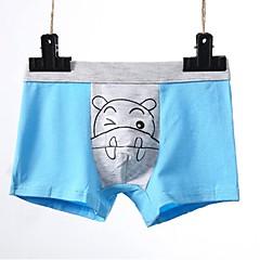billige Undertøj og sokker til drenge-Børn Drenge Aktiv Daglig Geometrisk Trykt mønster Rayon Undertøj og strømper Blå 120