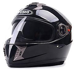 tanie Kaski i maski-YEMA 829 Kask pełny Doroślu Dla obu płci Kask motocyklowy Odporne na wstrząsy / Chroniący / a przed promieniowaniem UV / Odporny / a na działanie wiatru