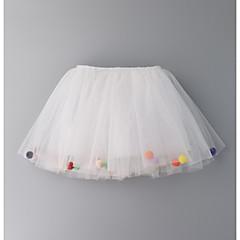 billige Babyunderdele-Baby Pige Basale / Gade Trykt mønster Bomuld Nederdel