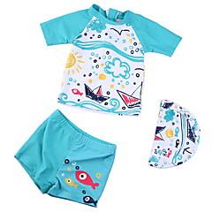 billige Badetøj til drenge-Børn Drenge Ensfarvet Badetøj