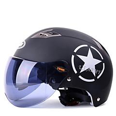 tanie Kaski i maski-YEMA 329 Braincap Doroślu Unisex Kask motocyklowy Odporny na wstrząsy / Odporność na promienie UV / Odporność na wiatr