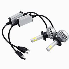 billige Frontlykter til bil-SO.K 2pcs 9003 / H7 / H4 Bil Elpærer 30 W Integrert LED / COB / Høypresterende LED 8000 lm 2 LED Hodelykt Alle år