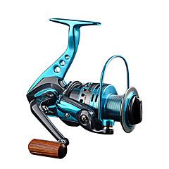 billiga Fiskerullar-Fiskerullar Snurrande hjul 5.5:1 Växlingsförhållande+12 Kullager Hand Orientering utbytbar Sjöfiske / Drag-fiske