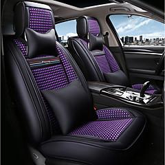 رخيصةأون اكسوارات مقاعد السيارات-ODEER أغطية مقاعد السيارات أغطية المقاعد أسود-أرجواني منسوجات عادي for عالمي كل السنوات جميع الموديلات