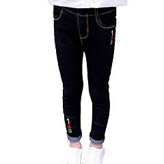 tanie Odzież dla dziewczynek-Dzieci Dla dziewczynek Podstawowy Jendolity kolor Spodnie