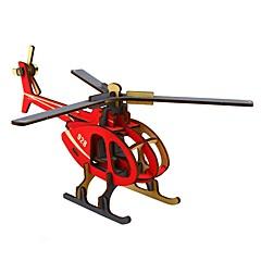 billige Puslespill i tre-Puslespill i tre Luftkraft 3D-tegneseriefigur Tre 1 pcs Teenager Alle Gave