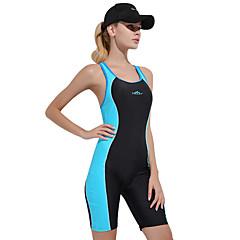 SBART Per donna Costume da bagno Resistenza al cloro Comodo Sport Nylon Elastene Senza maniche Costumi da bagno Abbigliamento mare Body Collage Nuoto