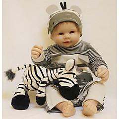 Χαμηλού Κόστους Κούκλες, παιχνίδια παιχνιδιών και γεμιστά ζώα-OtardDolls Κούκλες σαν αληθινές Μωρά Αγόρια 20 inch Σιλικόνη πλήρους σώματος - όμοιος με ζωντανό, Τεχνητή εμφύτευση Brown Eye Παιδικά Αγορίστικα Δώρο