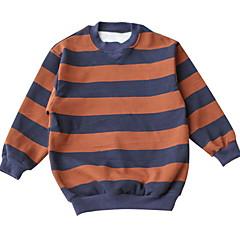 billige Sweaters og cardigans til babyer-Baby Pige Stribet Langærmet Trøje og cardigan