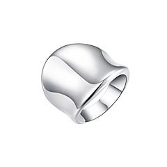 Χαμηλού Κόστους Ασημένιο Δαχτυλίδι-Γυναικεία Band Ring - Επάργυρο, Κράμα Μοντέρνα 8 Ασημί Για Καθημερινά