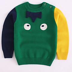 billige Sweaters og cardigans til drenge-Børn / Baby Drenge Trykt mønster Langærmet Trøje og cardigan