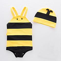 billige Badetøj til drenge-Børn Drenge Stribet / Farveblok Uden ærmer Badetøj