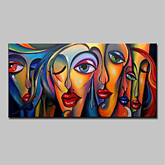 Mintura Large Size Hand Painted Abstract Y Oil Painting On Canvas Modern Wall Art Picture For Home Decoration No Frame