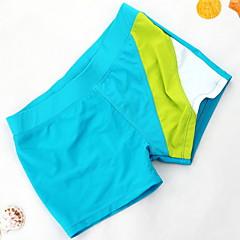 billige Badetøj til drenge-Børn Drenge Strand Ensfarvet Polyester Badetøj Lyseblå 150