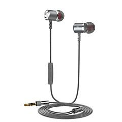 billiga Headsets och hörlurar-langsdom LSDN400 I öra Kabel Hörlurar Hörlurar / / POLY / Aluminium-magnesiumlegering Mobiltelefon Hörlur Stereo / mikrofon / Ergonomisk Comfort-Fit headset