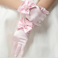 tanie Akcesoria dla dzieci-Brzdąc Dla dziewczynek Solidne kolory Rękawiczki Czerwony / Rumiany róż / Beżowy M / L