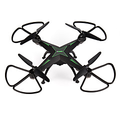 billige Fjernstyrte quadcoptere og multirotorer-RC Drone IDEA5 RTF 6CH 6 Akse 2.4G Med HD-kamera 0.3 640 Fjernstyrt quadkopter Hodeløs Modus / Flyvning Med 360 Graders Flipp / Sveve Fjernkontroll / 1 USD-kabel / Blader