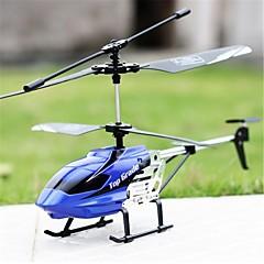 billige RC Helikopter-Radiostyrt Helikopter XY-08 4 Kanaler 3 Akse 2.4G Uten kamera RTF LED Lys / Flyr På Hodet