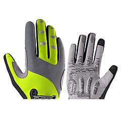 baratos Luvas de Motociclista-ROCKBROS Dedo Total Unisexo Motos luvas Fibra de Nailom Sensível ao Toque / Respirável / Anti-desgaste