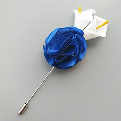 billige Motebrosjer-Herre Klassisk / Elegant Nåler - Blomst Europeisk, Romantikk Brosje Krem / Lys Rosa / Krystall Til Bryllup / Fest