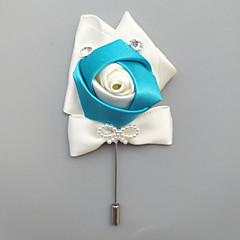 billige Motebrosjer-Herre Klassisk / Elegant Nåler - Blomst Europeisk, Elegant Brosje Smykker Lilla / Lyseblå / Lyseblå Til Bryllup / Fest