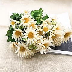 billige Kunstige blomster-Kunstige blomster 1 Gren Klassisk Stilfull Moderne Kurvplante Bordblomst