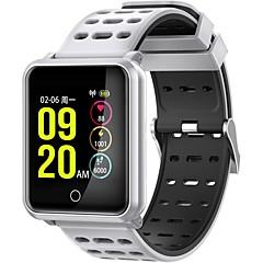 tanie Inteligentne zegarki-Inteligentne Bransoletka JSBP-N88 na Android iOS Bluetooth Sport Wodoodporny Pulsometry Pomiar ciśnienia krwi Ekran dotykowy Krokomierz Powiadamianie o połączeniu telefonicznym Rejestrator aktywności