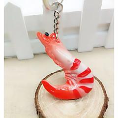 baratos Chaveiros-Chaveiro Vermelho Irregular, Animal Resina, Liga Comum, Fashion Para