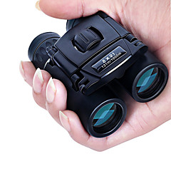 8 X 21 mm Binoculars Night Vision Black Camping / Hiking / Hunting and Fishing / Traveling Waterproof / Portable / Night Vision / Porro / Fully Multi-coated / Bird watching