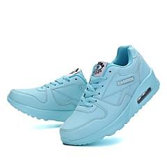baratos Tênis de Corrida-Mulheres Tênis Caminhada / Corrida / Cooper Leve, Respirabilidade, Á Prova-de-Pó Pele Sintética Fúcsia / Azul / Rosa claro / Anti-desgaste