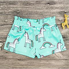 billige Jenteklær-Barn Jente Geometrisk Shorts