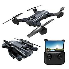 billige Fjernstyrte quadcoptere og multirotorer-RC Drone F196 RTF 4 Kanaler 6 Akse 2.4G Med HD-kamera 2.0MP 720P Fjernstyrt quadkopter En Tast For Retur / Hodeløs Modus Fjernstyrt Quadkopter / Fjernkontroll / 1 USD-kabel