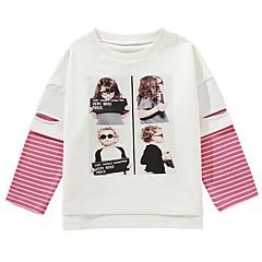 baratos Roupas de Meninos-Infantil / Bébé Para Meninos Estampado Manga Longa Moleton & Blusa de Frio