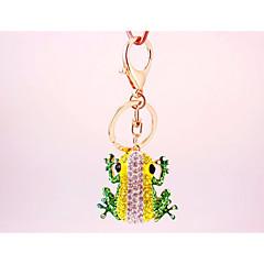 baratos Chaveiros-Chaveiro Amarelo Irregular, Animal Imitações de Diamante, Liga Decorada com Pedrarias / Strass, Fashion Para Presente / Diário